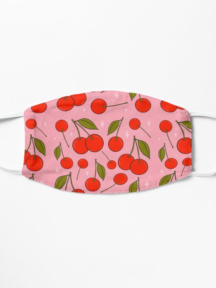 Alternate view of Cherries on Top Mask