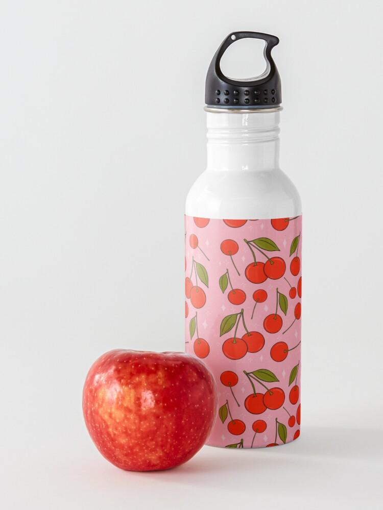Alternate view of Cherries on Top Water Bottle
