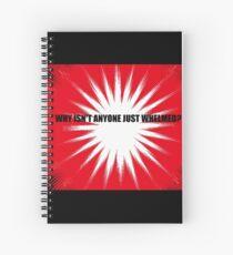 Whelmed Spiral Notebook