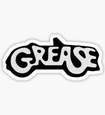 Grease Lyrical Logo Sticker