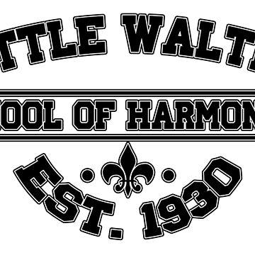 Little Walter School Of Harp by brandonrankin