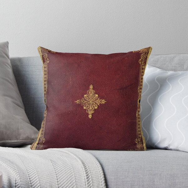 Old Age Book Cover Throw Pillow