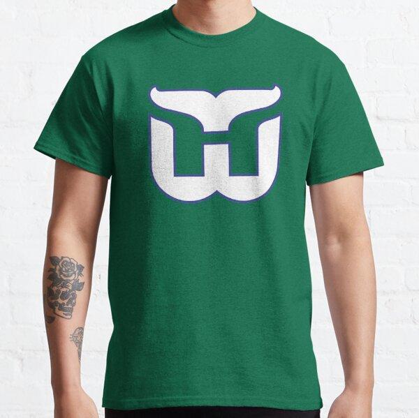 Hartford Whalers Vintage Logo Classic T-Shirt