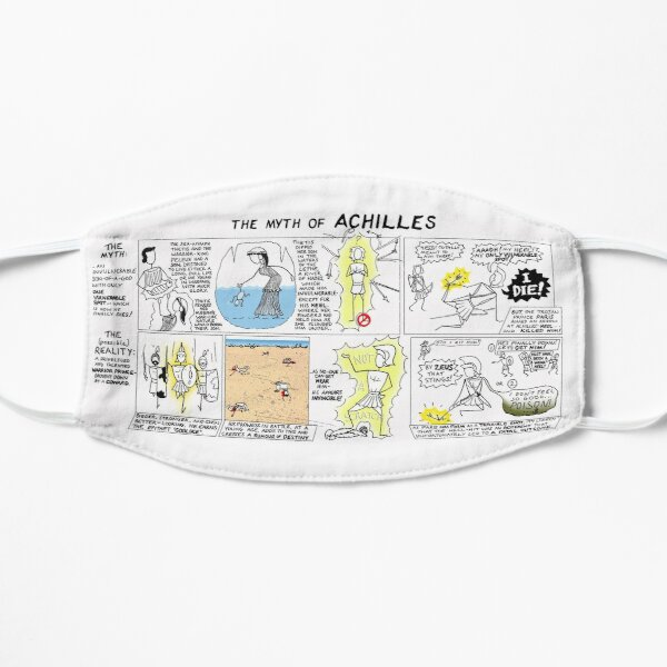 Greek Myth Comix - the Myth and Reality of Achilles Mask