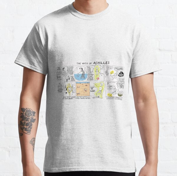 Greek Myth Comix - the Myth and Reality of Achilles Classic T-Shirt