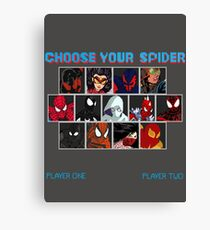Spider-Verse Fighter Canvas Print