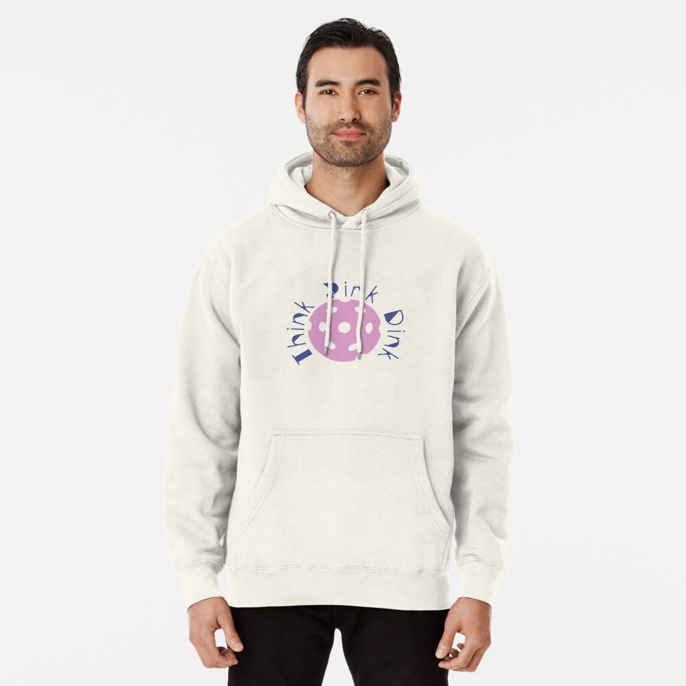 Think Pink Dink Pullover Hoodie