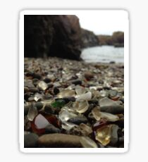 Glass Beach Sticker