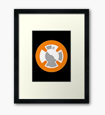 BB-8 Design Framed Print