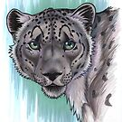 Snow Leopard Portrait by cybercat