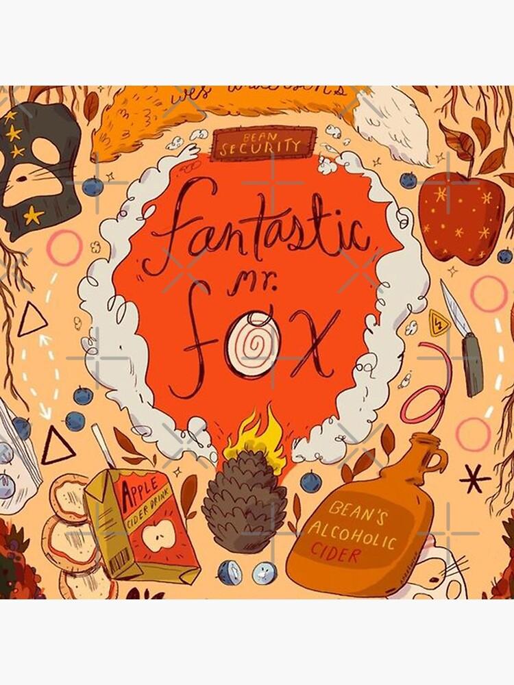Fantastic Mr Fox Illustration  by llayahh