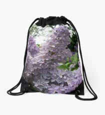 Pretty Purple - Lilacia Park Drawstring Bag