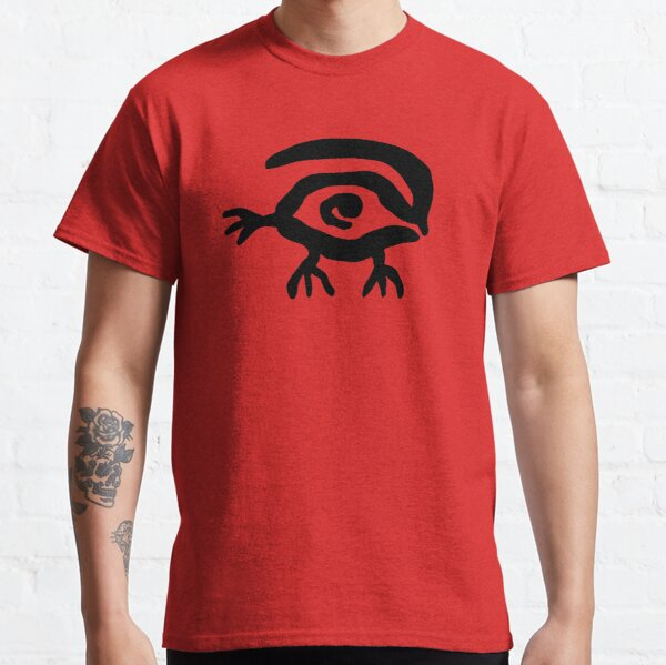 WAXBERG in Red Classic T-Shirt