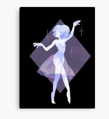 Blue pearl Canvas Print