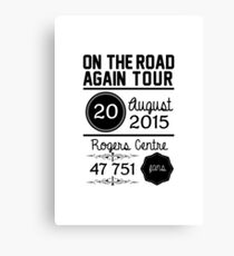 20th August - Rogers Centre OTRA Canvas Print