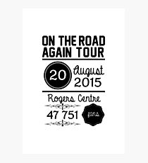 20th August - Rogers Centre OTRA Photographic Print
