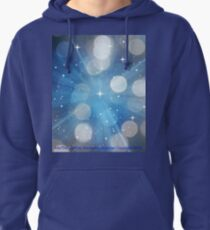 Into The Light by Diamante Lavendar Pullover Hoodie