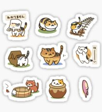 Neko Atsume - Deluxe Sticker