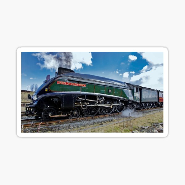 """Number """"9"""" railway engine. Sticker"""