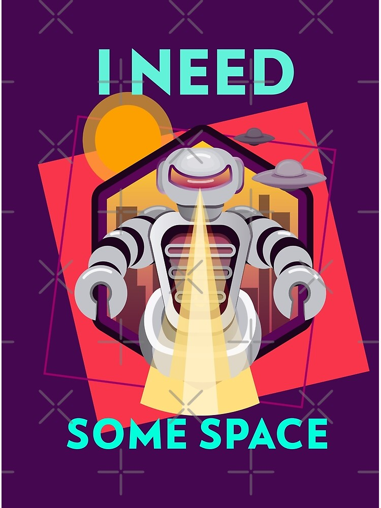I need some space by WendyLeyten