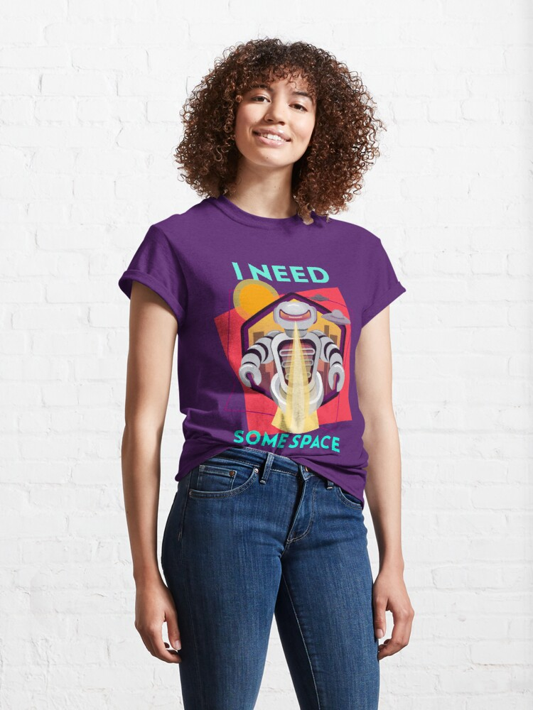 Alternate view of I need some space Classic T-Shirt