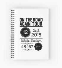 12th September - Gillette Stadium OTRA Spiral Notebook