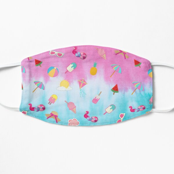 Summer Tropical Beach Colorful Pattern Mask