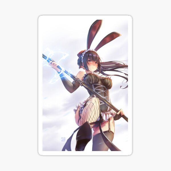 Narberal Bunny girl | Overlord Sticker