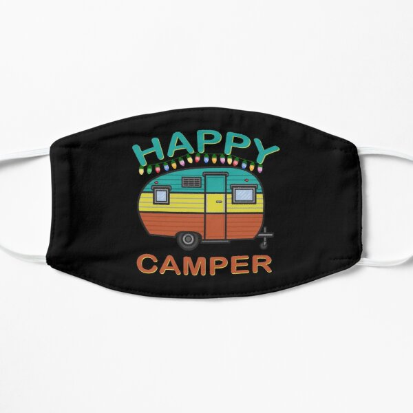 Happy Camper Fun For The Whole Family Camping Mask