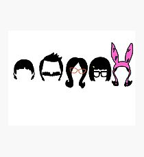 Bobs Burgers Belcher Line Up Photographic Print