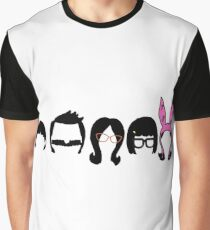 Bobs Burgers Belcher Line Up Graphic T-Shirt