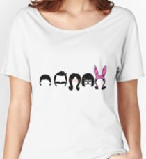 Bobs Burgers Belcher Line Up Women's Relaxed Fit T-Shirt