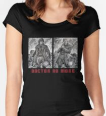 Doctor No More Women's Fitted Scoop T-Shirt