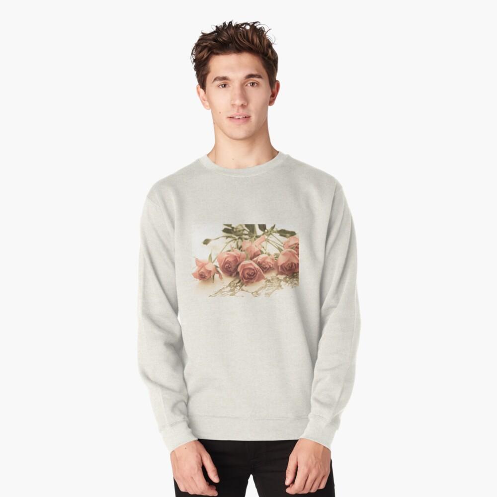 antique roses Pullover Sweatshirt