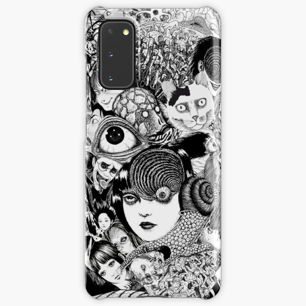 junji ito collage Case & Skin for Samsung Galaxy
