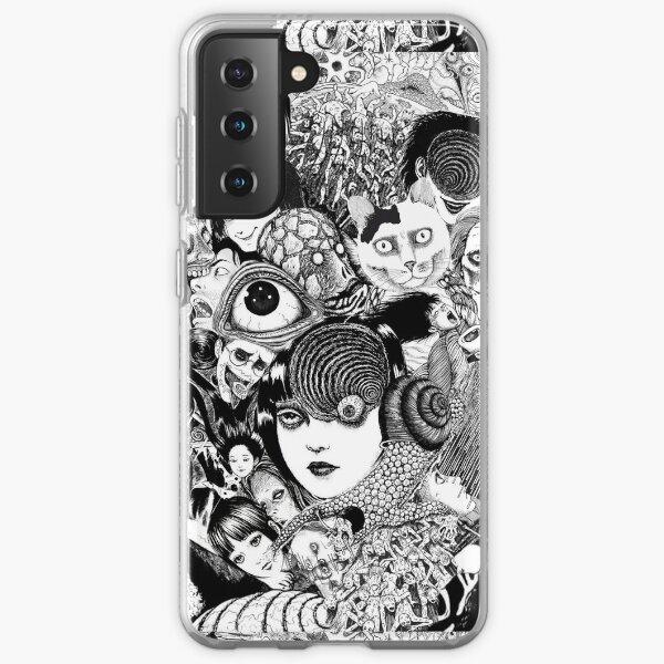junji ito collage Samsung Galaxy Soft Case