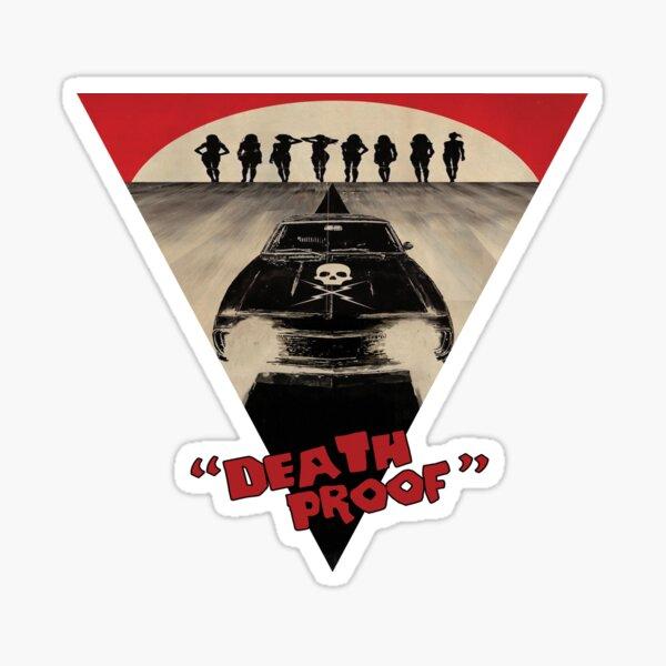 Death proof (2007, Quentin tarantino) Sticker