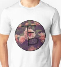 the front bottoms floral logo T-Shirt