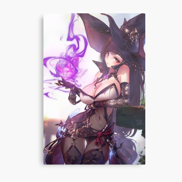 Tifa Witch | Final Fantasy VII Metal Print