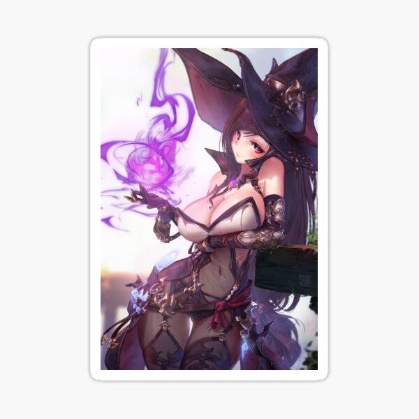 Tifa Witch   Final Fantasy VII Sticker