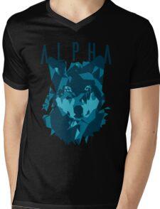 Alpha wolf Mens V-Neck T-Shirt