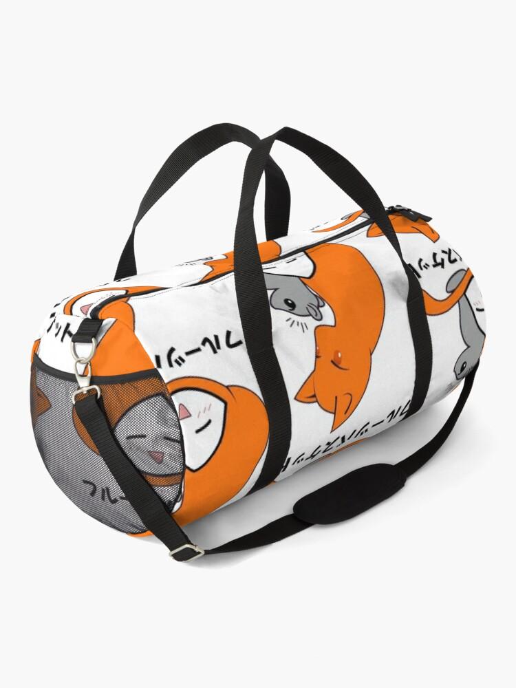 Alternate view of Kyō Yuki Onigiri/Cat mouse Onigiri/Anime zodiac/Cosplay cute Duffle Bag