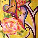 Two Hearts One Love by ksgfineart