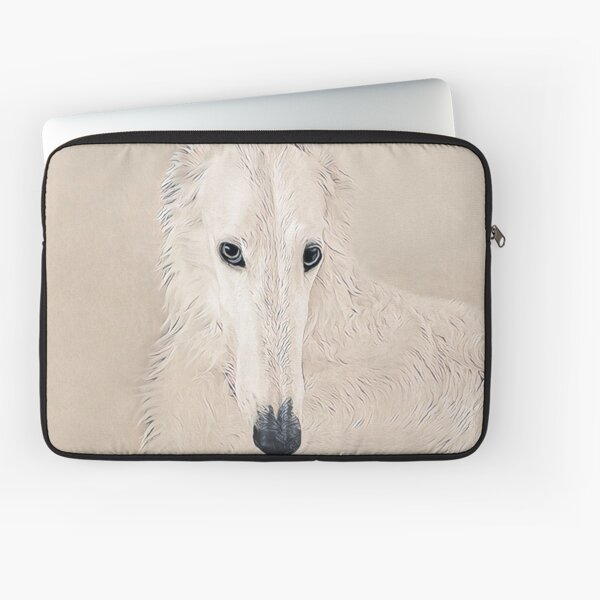 Lady In White Laptop Sleeve