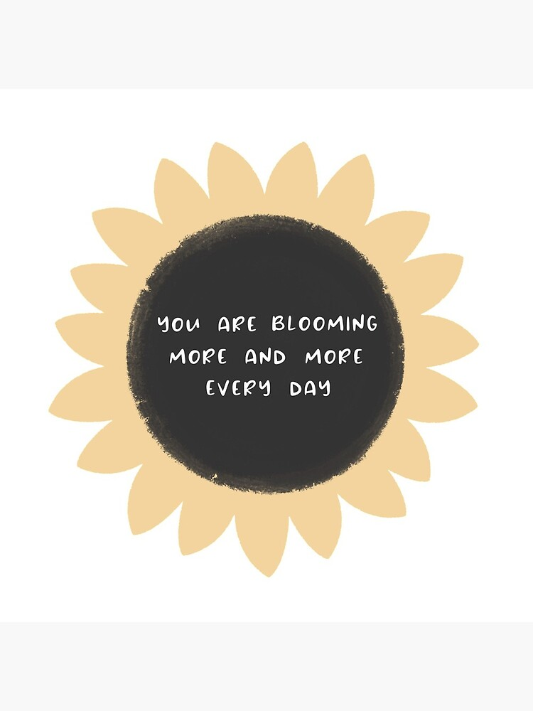 You are blooming more and more every day by ladybluebottle
