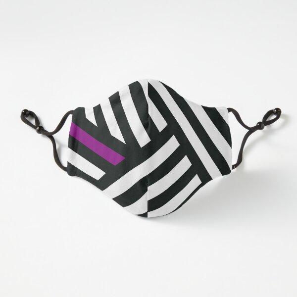 Dazzle Ship - Purple/White Fitted 3-Layer