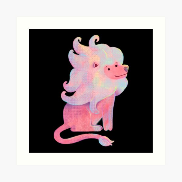 Lion from Steven Universe Art Print