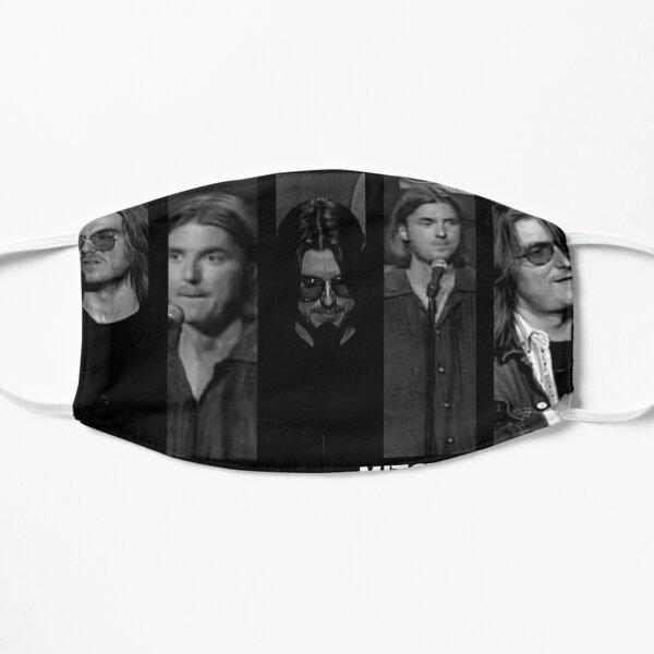 Mitch Hedberg Black and White Flat Mask