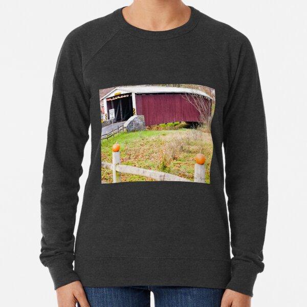 Kauffman Distillery Bridge. Manheim - Lancaster County, PA. Lightweight Sweatshirt