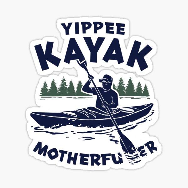 Kayak Yippee Pegatina
